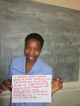 Train 1,000 Zimbabwean Students On Leadership