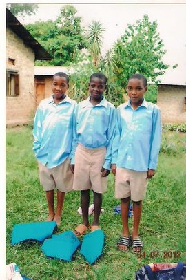 Clothing Poor Children in Uganda