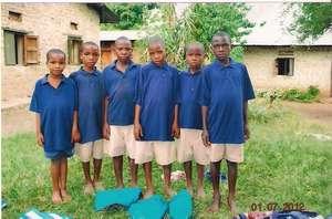 Clothing Poor Children in Uganda