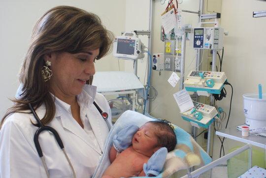Premature Baby Neonatal Unit