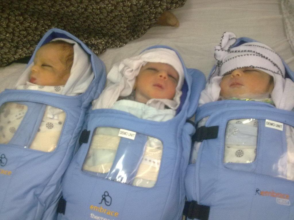Afghan Triplets