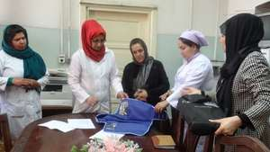 Staff training at Rabia Balkhi Hospital