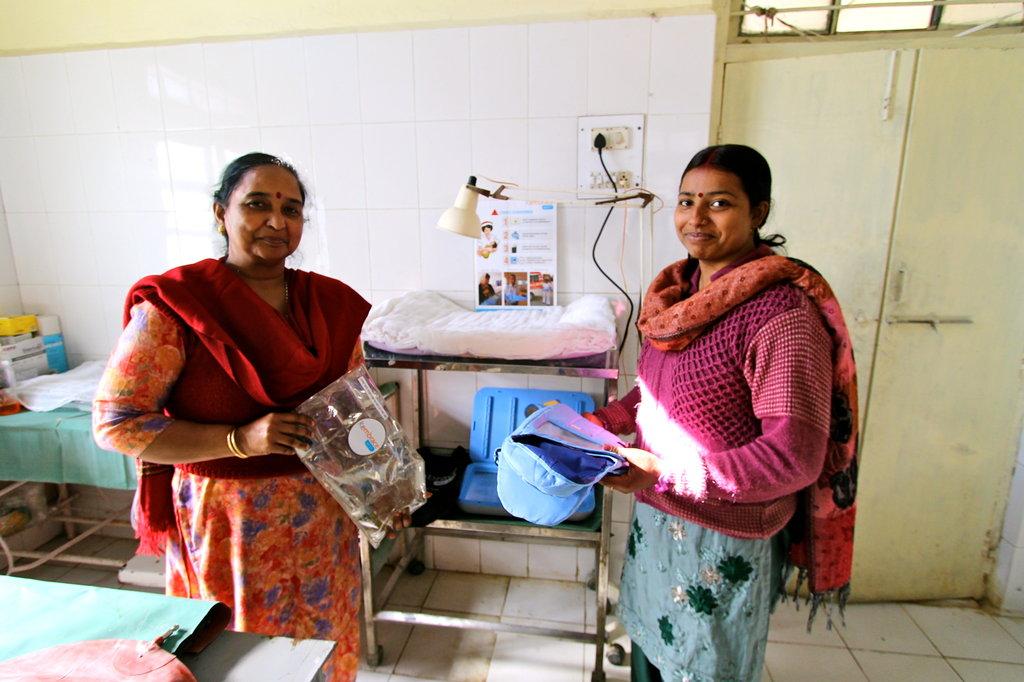 Raebareli clinic receives Embrace starter pack