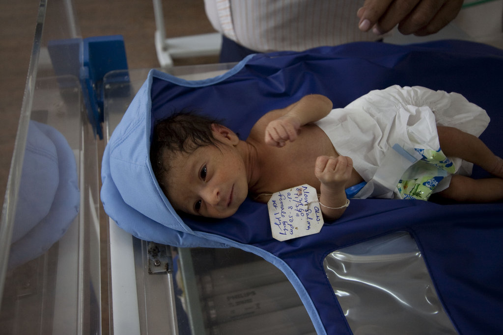 Preventing Newborn Hypothermia in Afghanistan