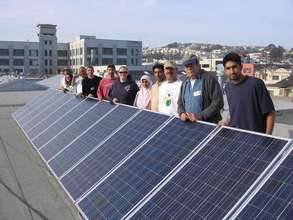 Solar install in Bayview/Hunter's Point - Nov. '06