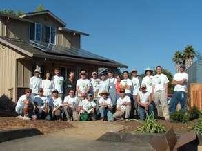 Santa Cruz solar installation team