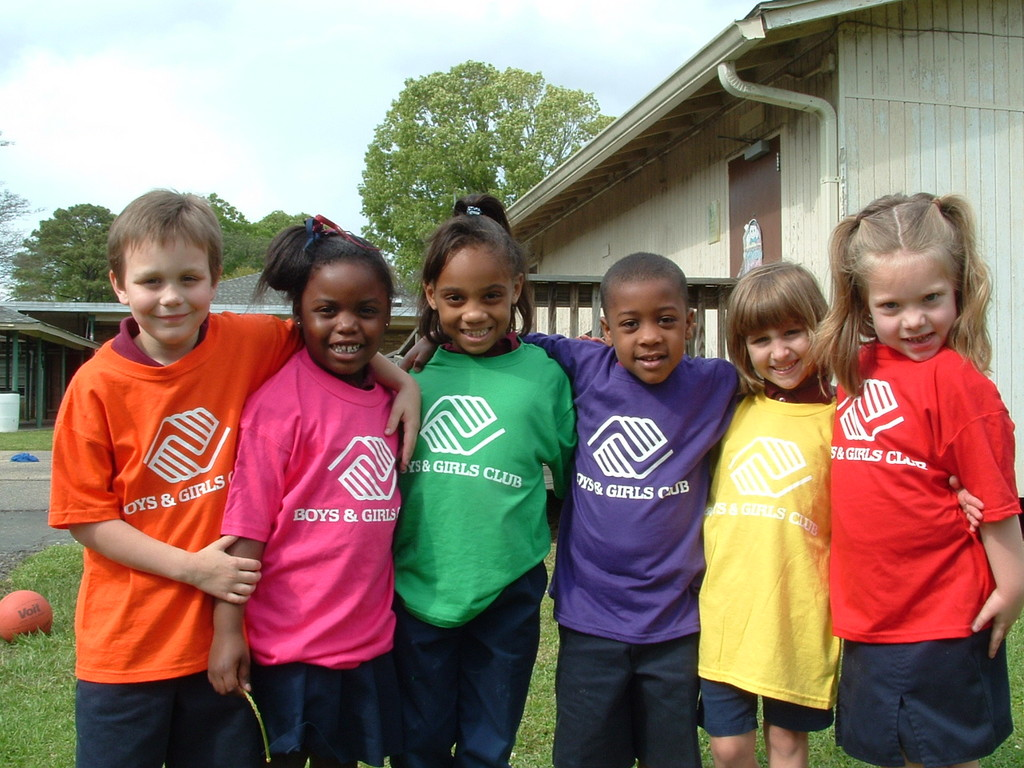 Boys and Girls Club students