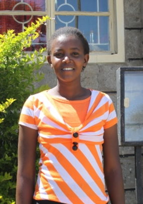Damaris, one of Africa SOMA's 2013 Scholars