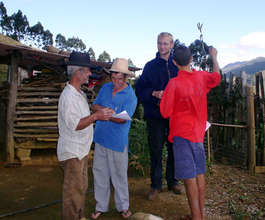 consulting with farmers