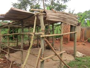 Photo of the new heifer shelter