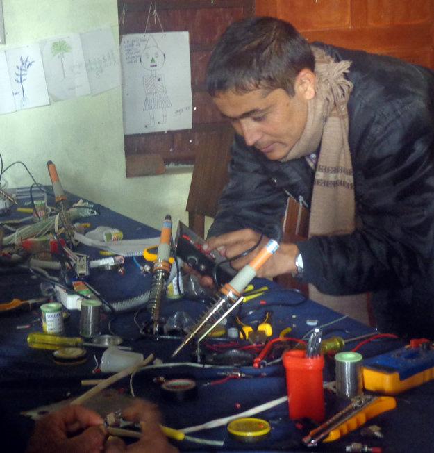 Mr. Tej Nath - Principal, Durga Primary School