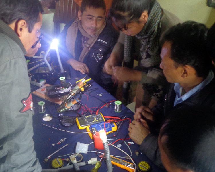 Active participants during R & M Training