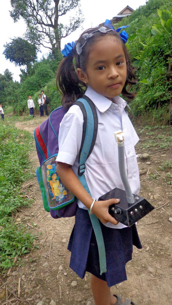 Taking SolarTuki to School for Education and Charg