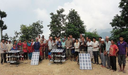 Solar Tuki Handover to Community