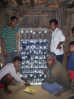 Community Charging Center at Kantipur Village