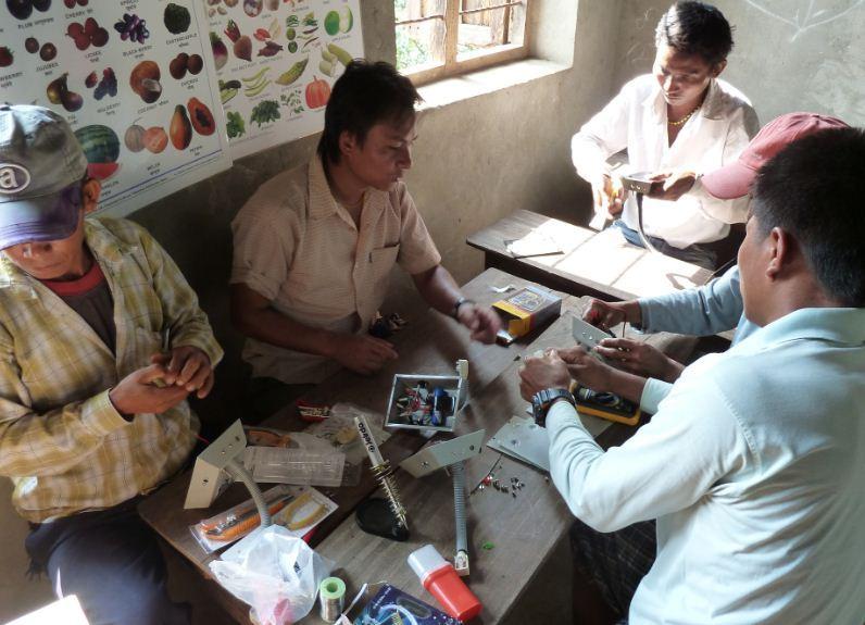 Repair & Maintenance Training for Locals