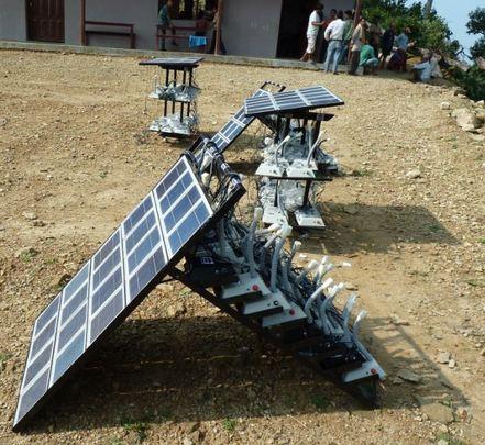 Mass charging installed in School