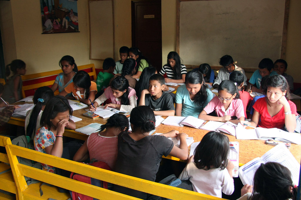 Students in Orphanage