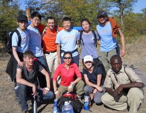 Envoys trip to Chickolongo Fish Farm site