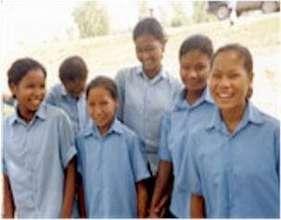 Rescued Girls in School