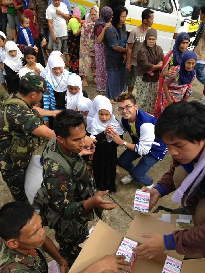 AAI medical distribution typhoon victims