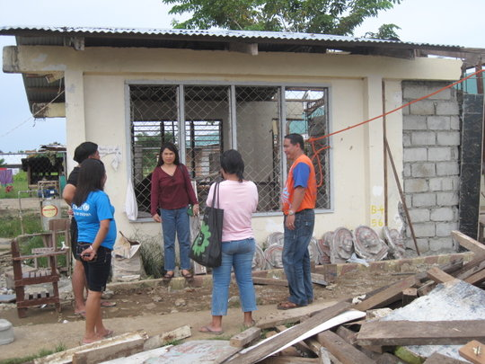 AAI provides books while IPI and OWI build roofs.