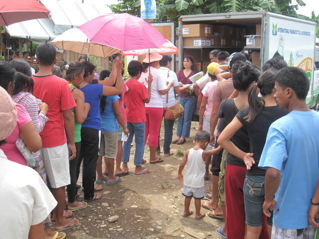 AAI  assisting more than 5,000 people in Cateel.