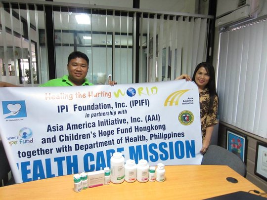 Asia America Initiative and IPI Foundation relief