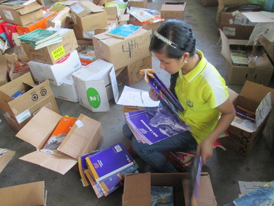 AAI school books ready for distribution