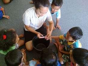 Cutting Their Nails