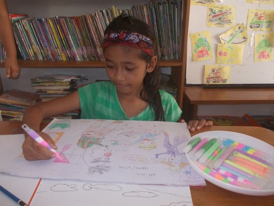 Drawing and Coloring Activities