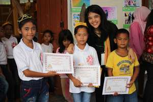 Certificate distribution for the winners