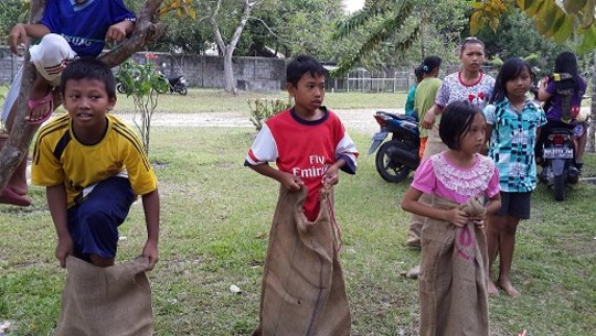 Sack Race Competition