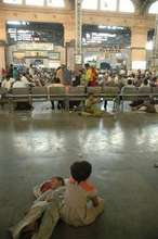 Mumbai central station concourse
