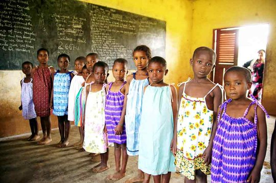 HIV/Sex-ED Day Camp for At Risk Youth in Cameroon