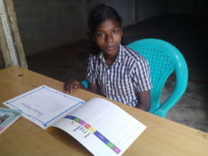 A girl beneficiary