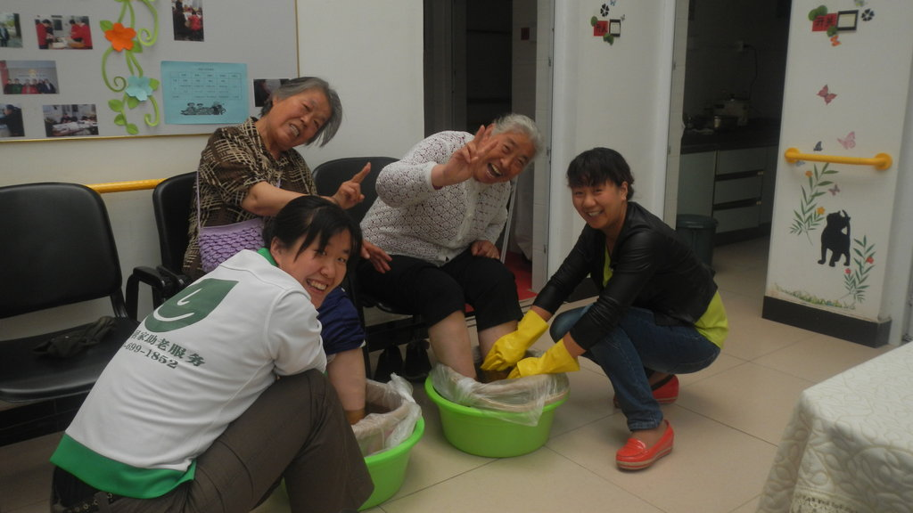 Warm-Winter Package for Community Senior Citizens