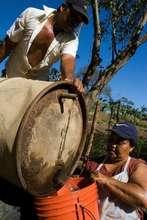 Watering Crops in Futuro, Nicaragua