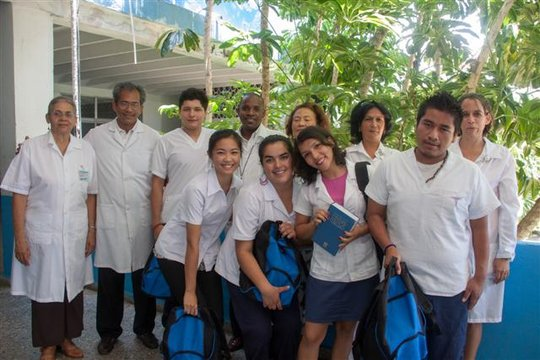Doctor's Kits support ELAM students in Cuba