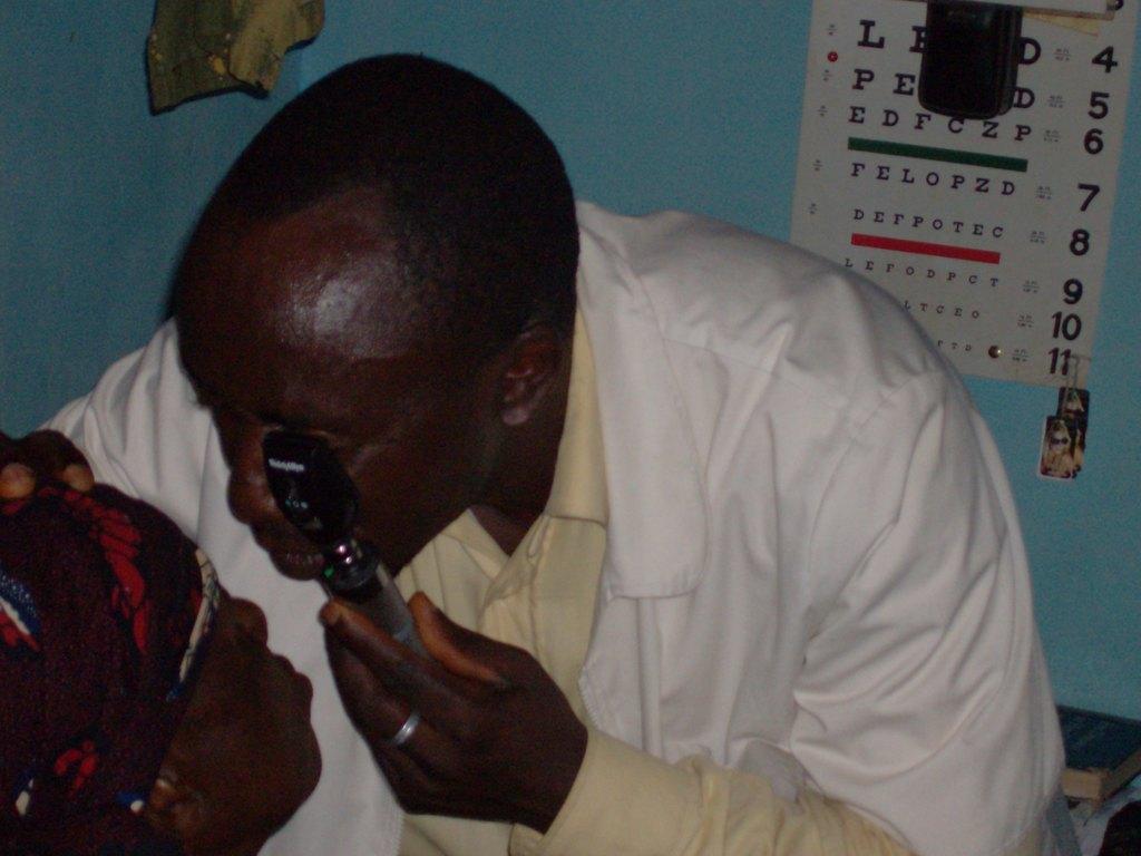 Mobile Eye Nurse in Belo Community