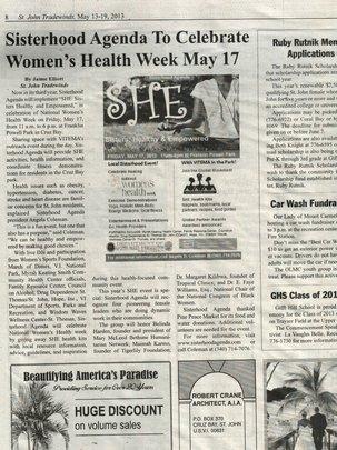 Tradewinds Newspaper Article