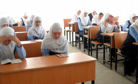 A Scholarship for Zahra to Attend School