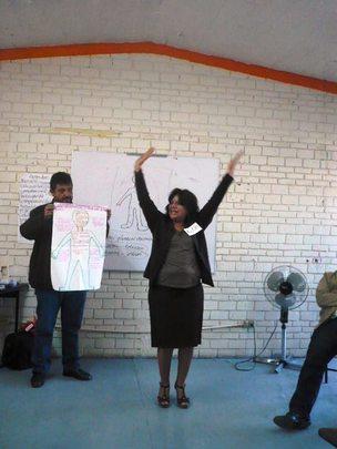 Teachers lerning new ways to educate children