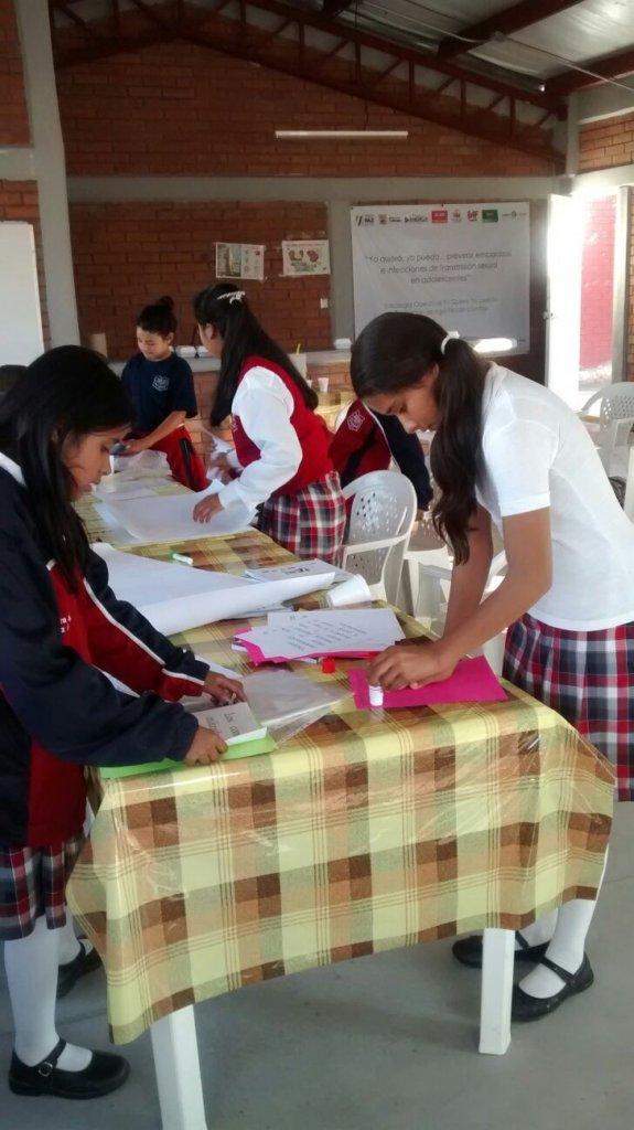 Girls in the workshop