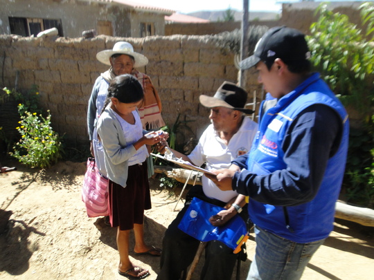 Interviews with beneficiary families