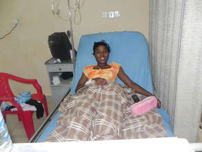 Mariama after surgery