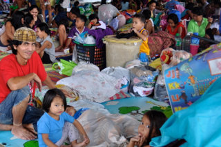 Your support kept evacuees like these safe