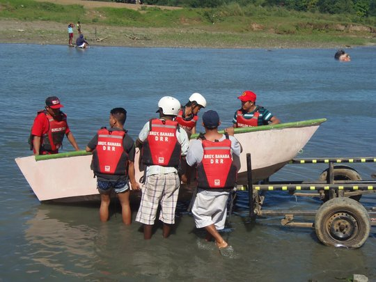 Crews sharpen their skills by testing a new boat