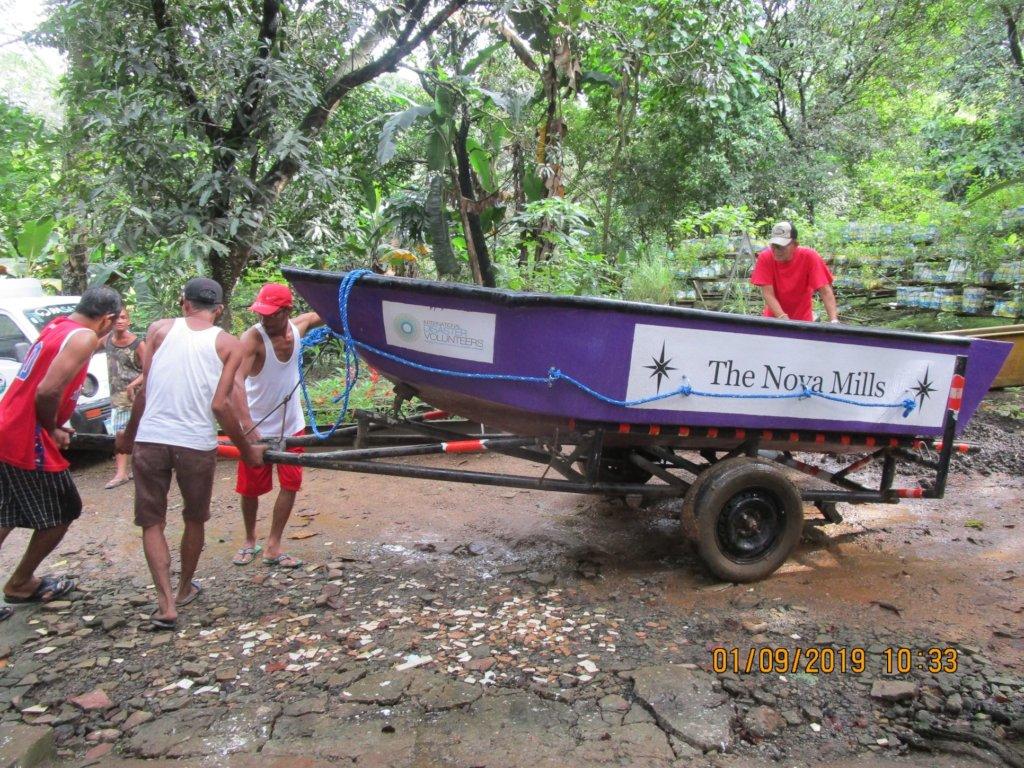 The Nova Mills returned to Armpac