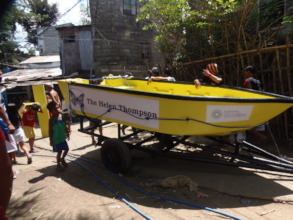 The Bukluran joins the larger Helen Thompson boat